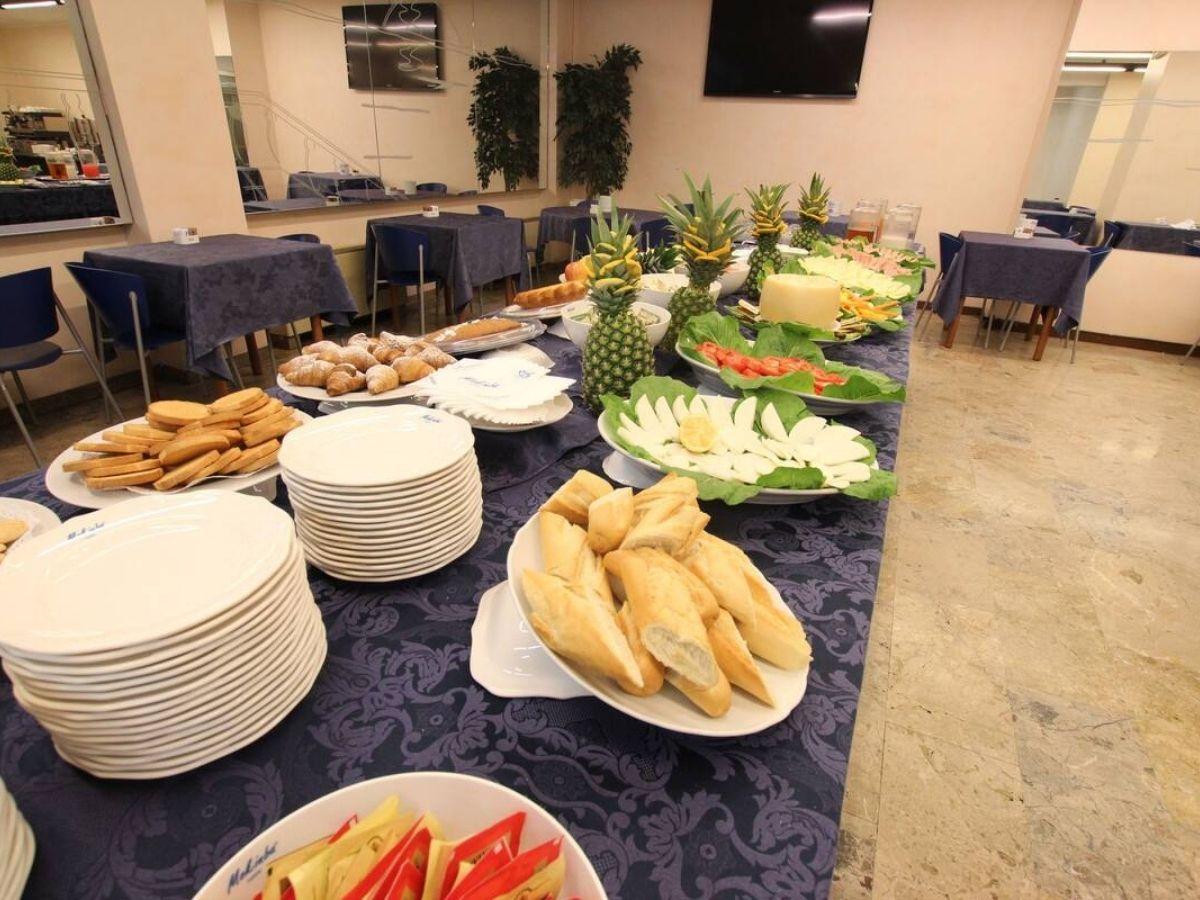 モキンバ ホテル クリスタロの朝食