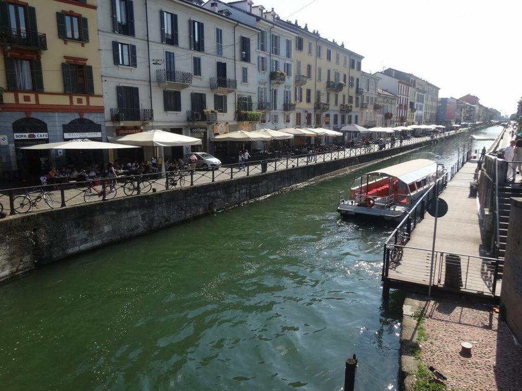 グランデ運河の風景