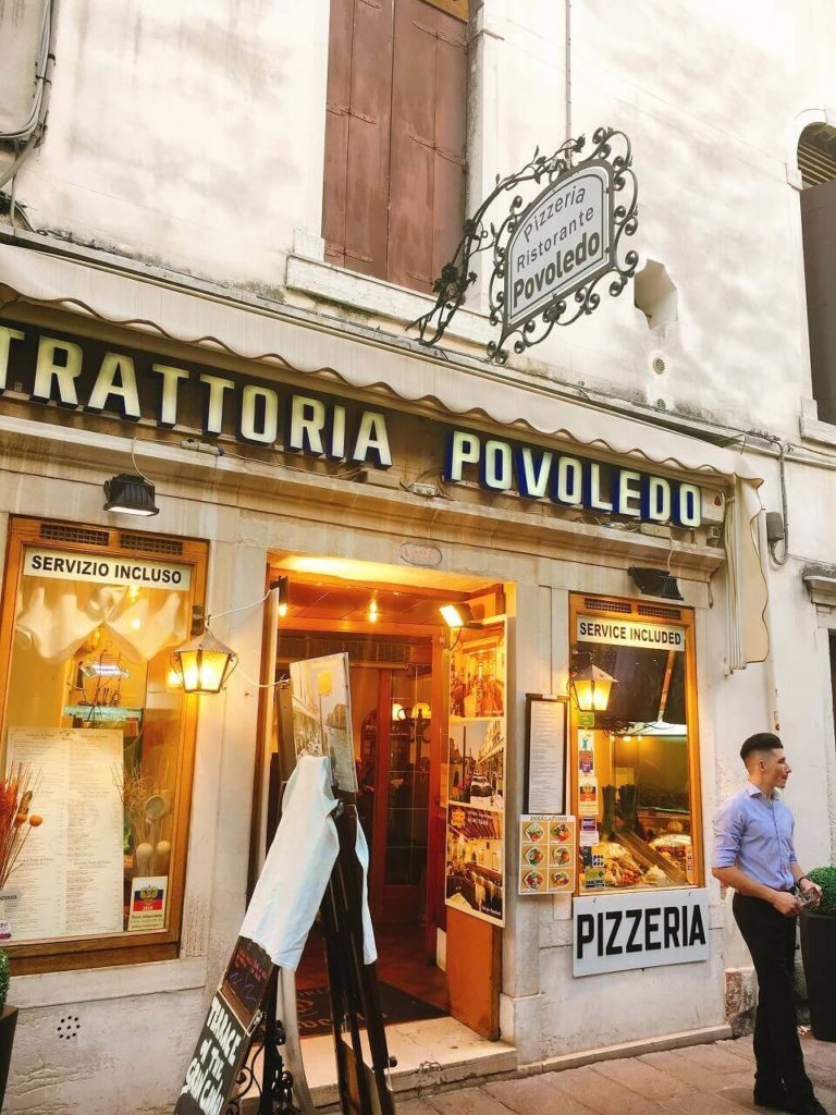 Trattoria Povoledo Venezia