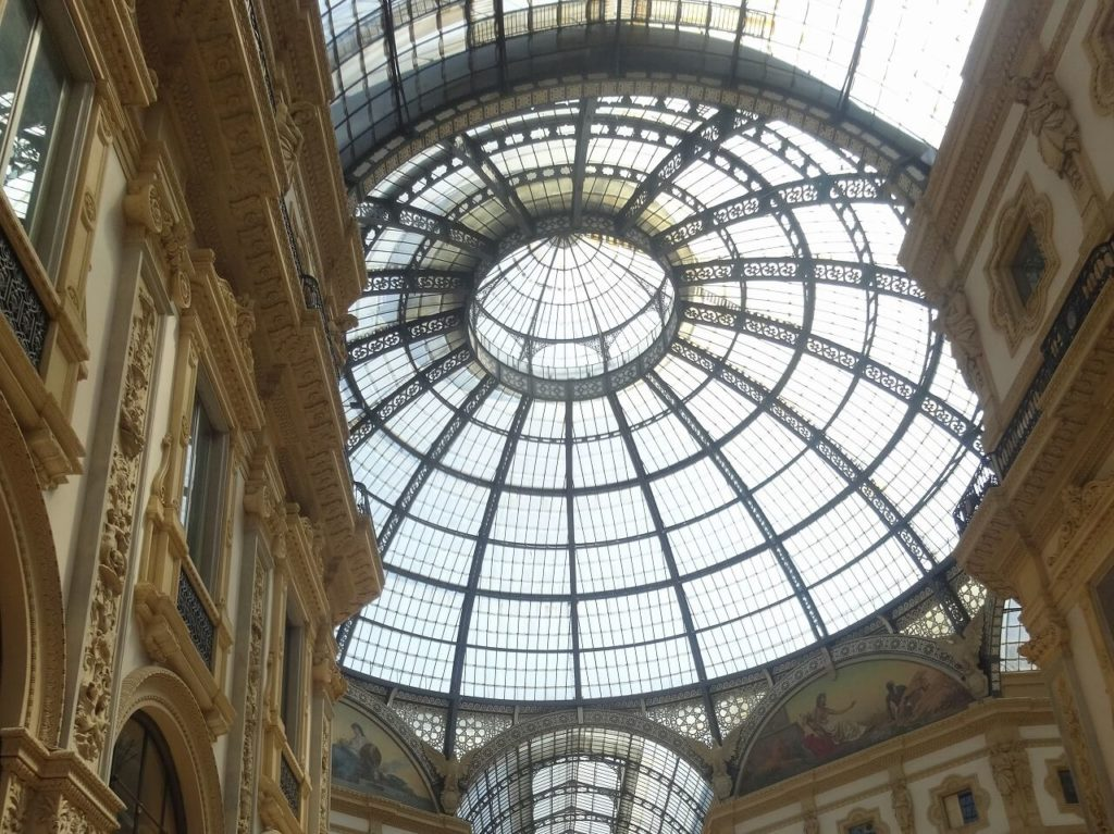 ヴィットーリオ・エマヌエーレ2世のガッレリアの天井