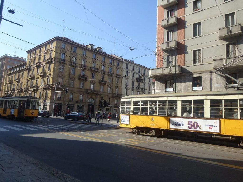 イタリアの路面電車