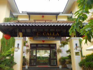 Calla Villa Hoi Anの入口