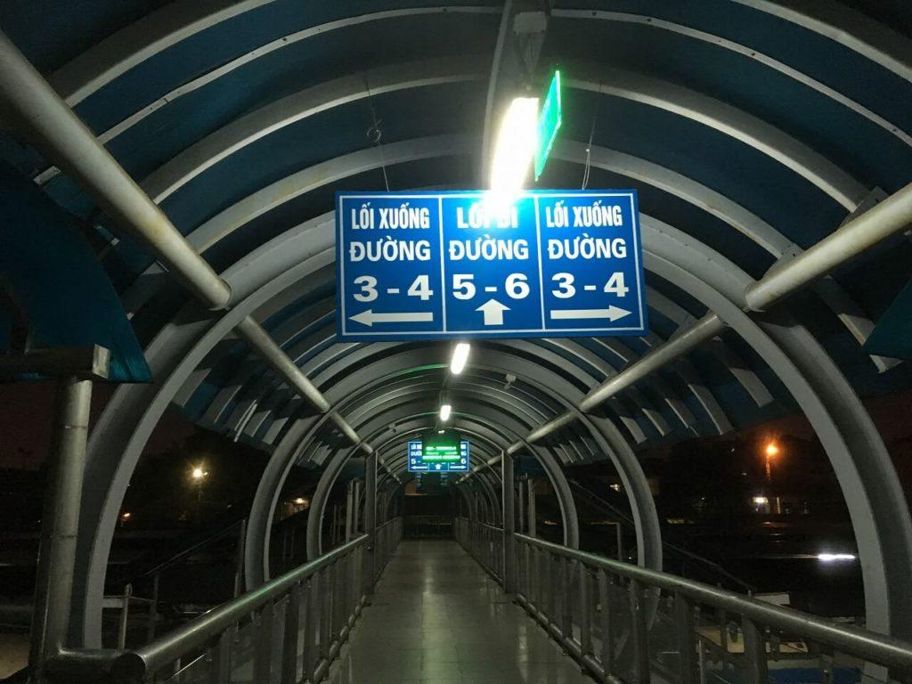 ベトナム統一鉄道の標識3