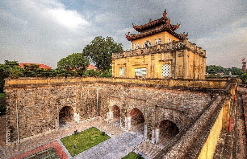 ベトナム・ハノイのタンロン遺跡