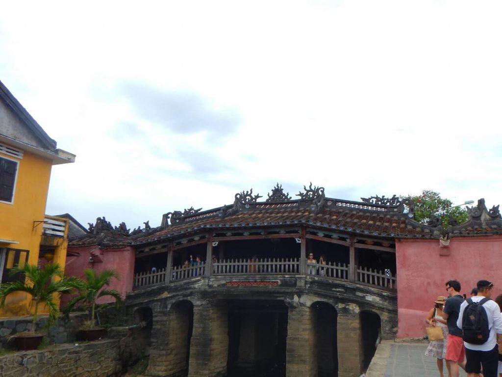 ホイアンのシンボル日本橋(来遠橋)