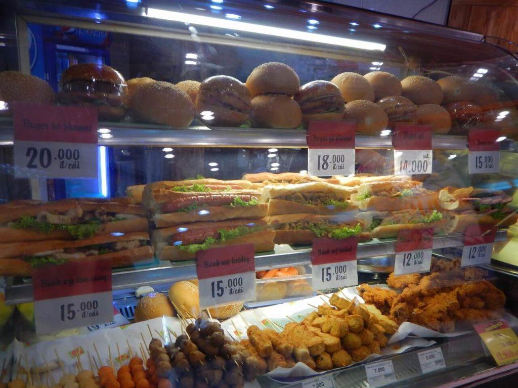 サンドイッチショップ