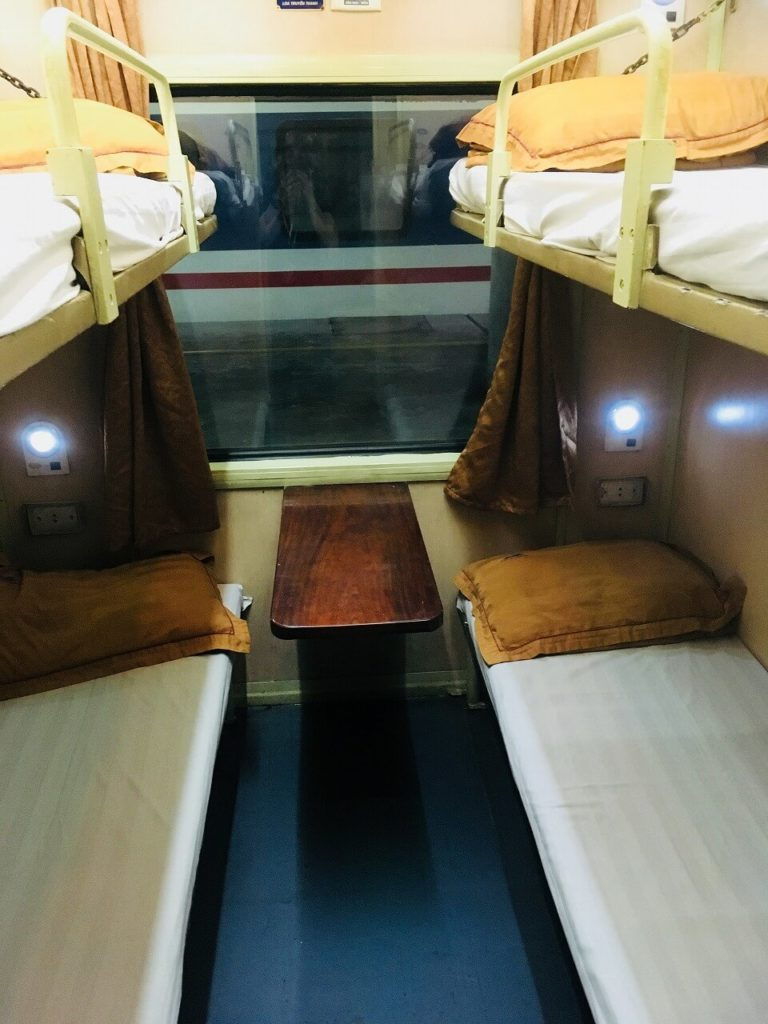 ベトナム統一鉄道のソフトベッドルーム