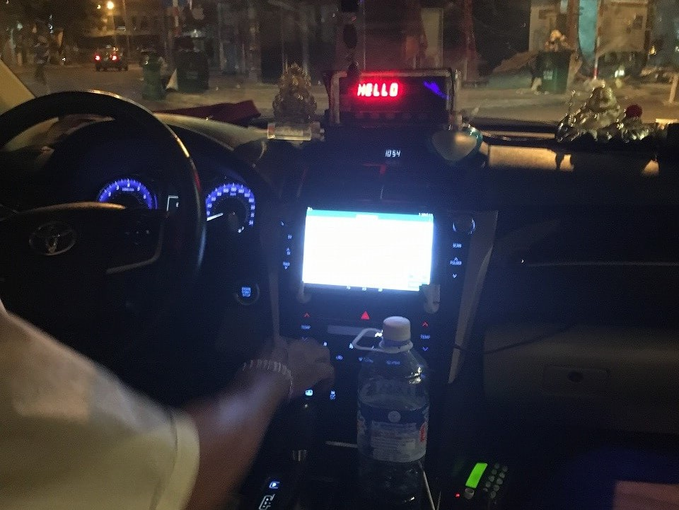 ベトナムのタクシー