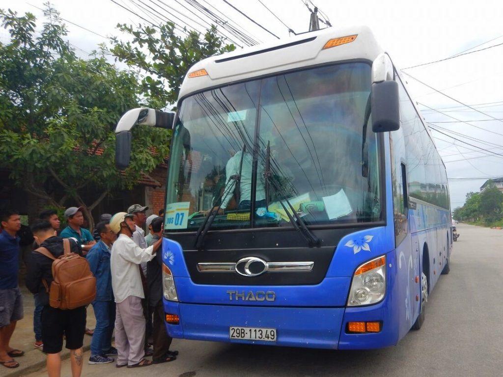 ホイアンへのバス