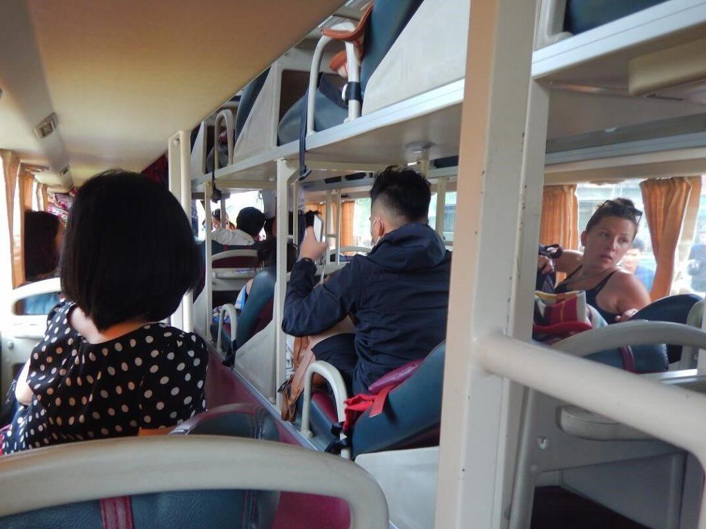 ホイアンへのバスの中