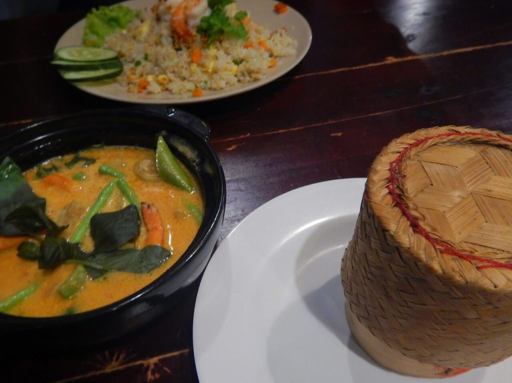 タイマーケットレストランの料理