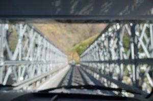 ヨセミテ国立公園の橋