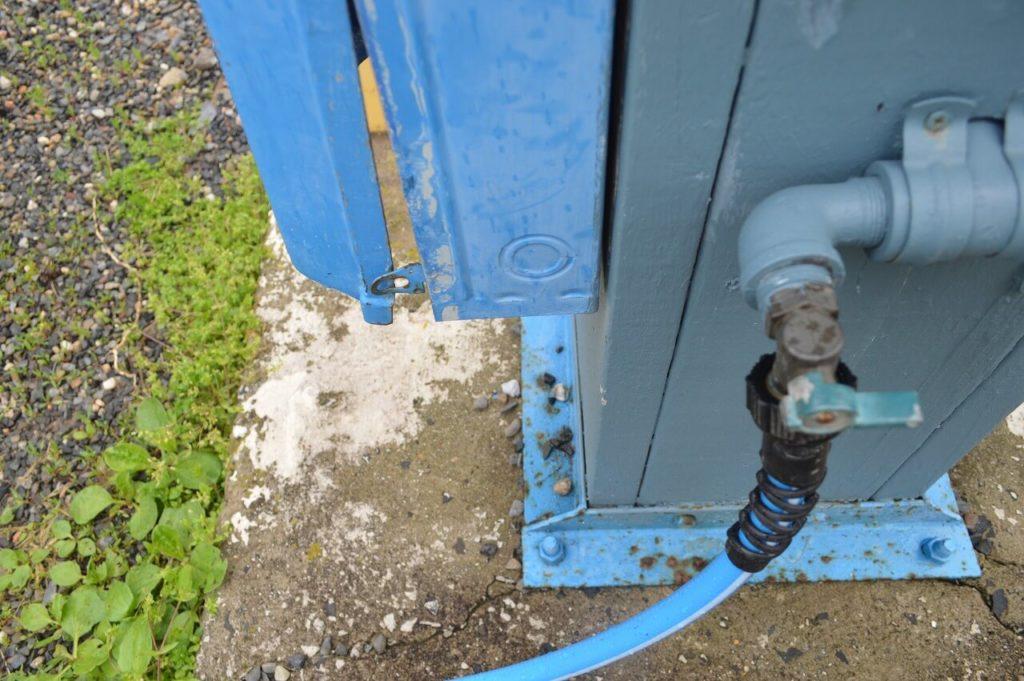 RVの給水のセッティング