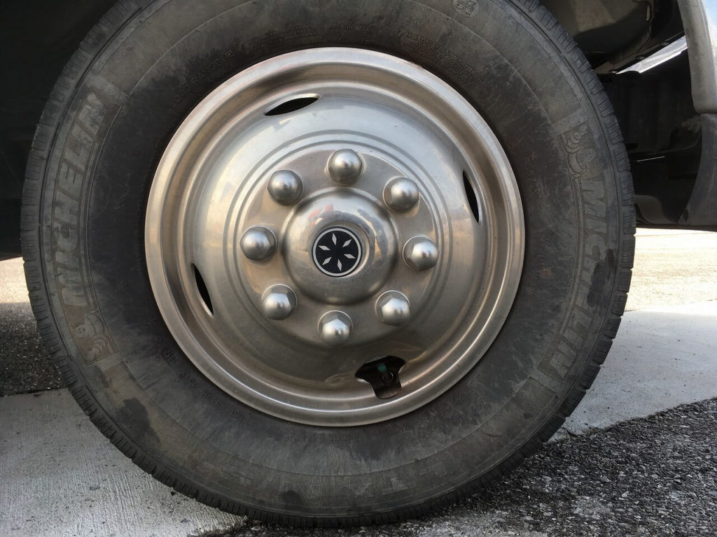 RVのタイヤ