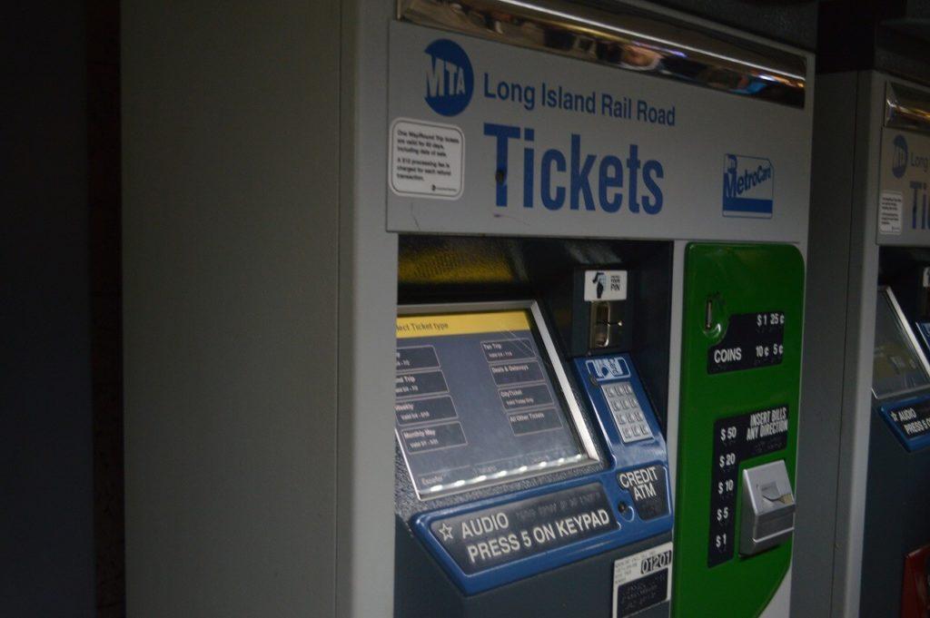 MTAチケット販売機