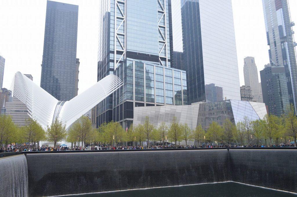 ワールド・トレードセンターの記念碑