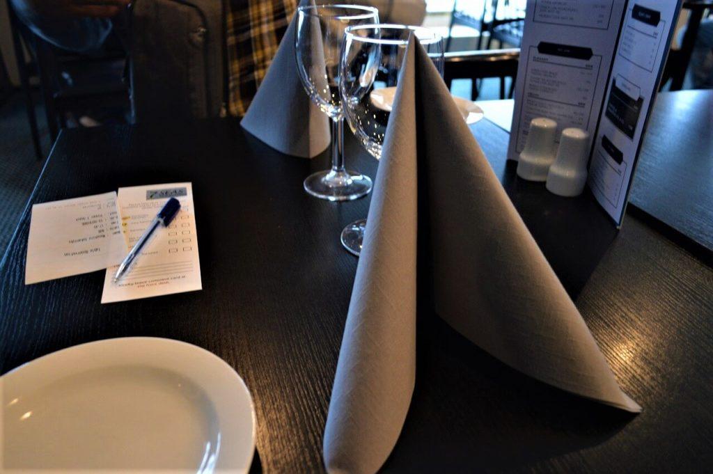 DFDS船内にある7seas レストラン