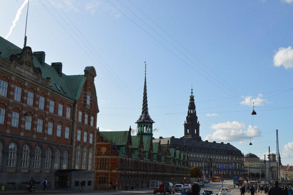 コペンハーゲンの旧証券取引所
