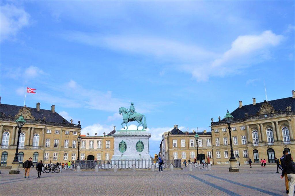 コペンハーゲンのアマリエンボー宮殿