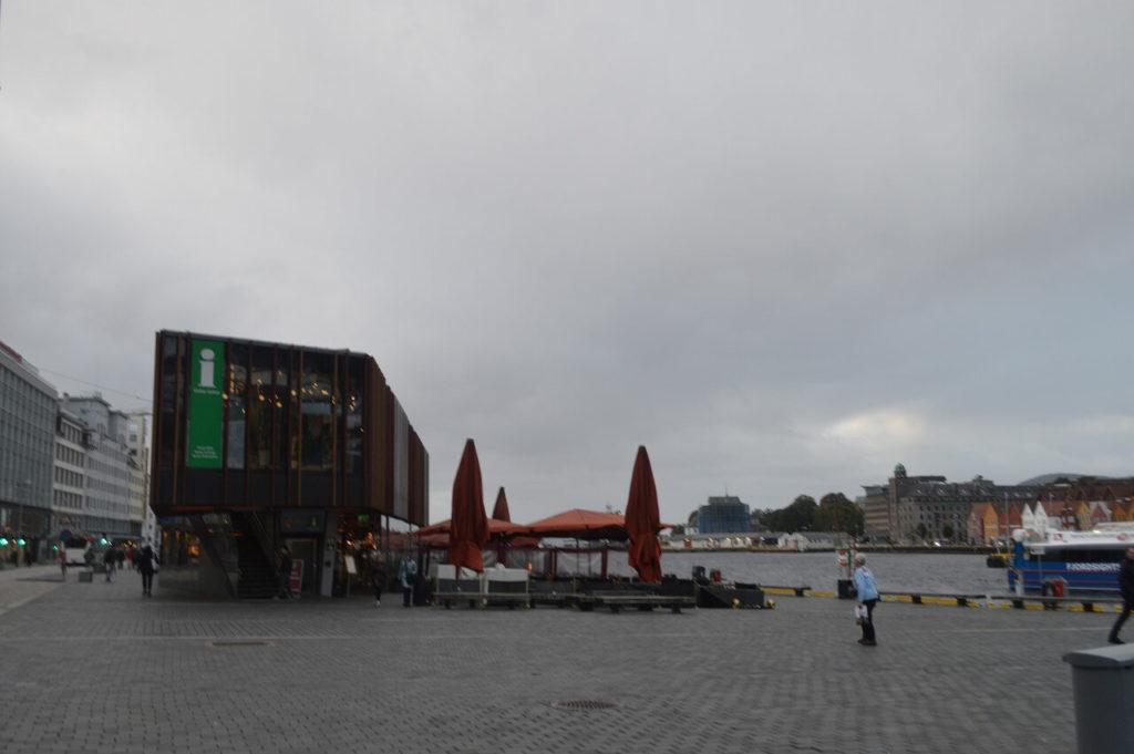 ノルウェーのベルゲンのインフォメーションセンター