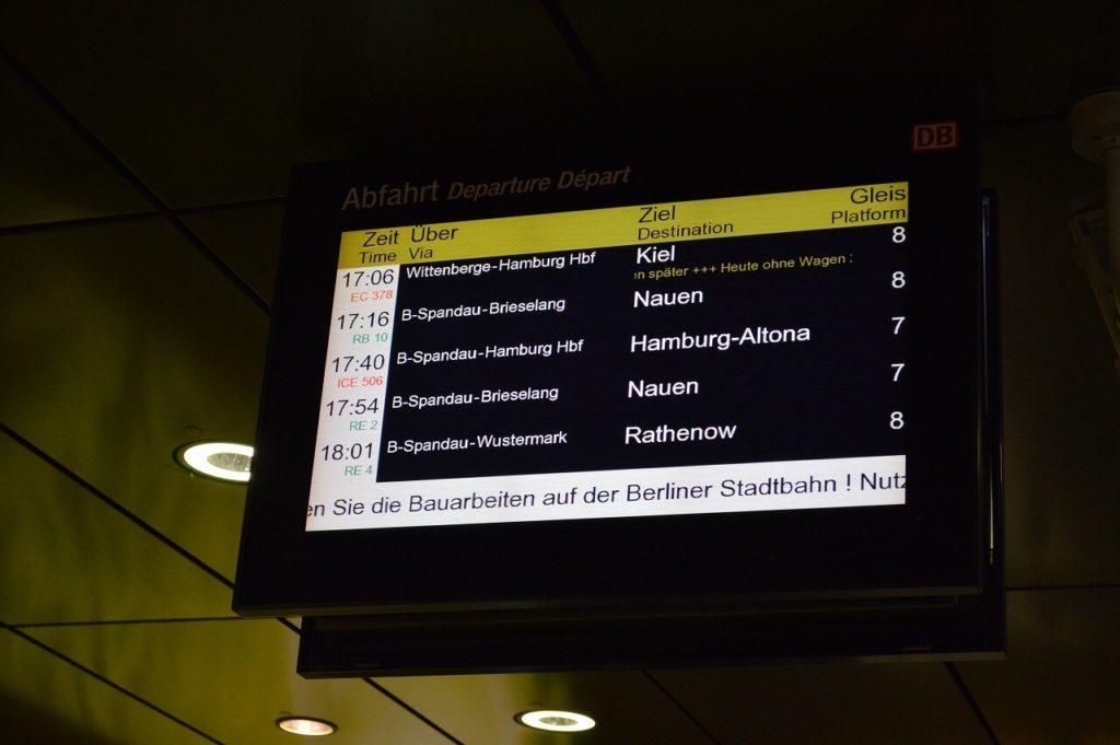 ベルリン中央駅ターミナル