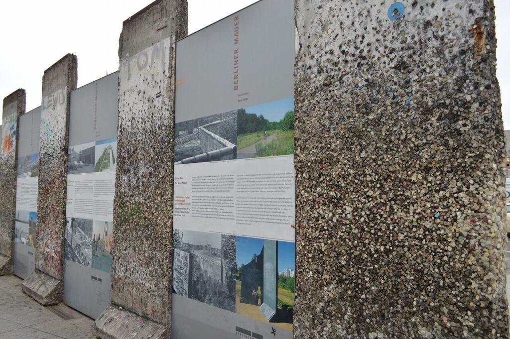 ポツダム広場にあるベルリンの壁