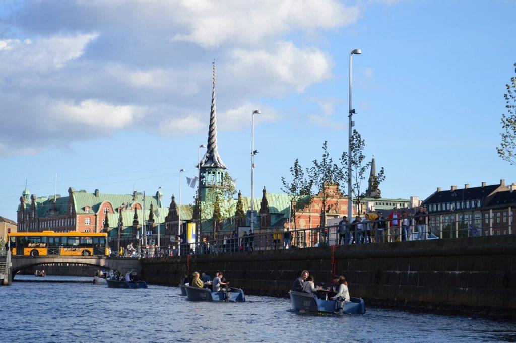 コペンハーゲンのキャナルツアー