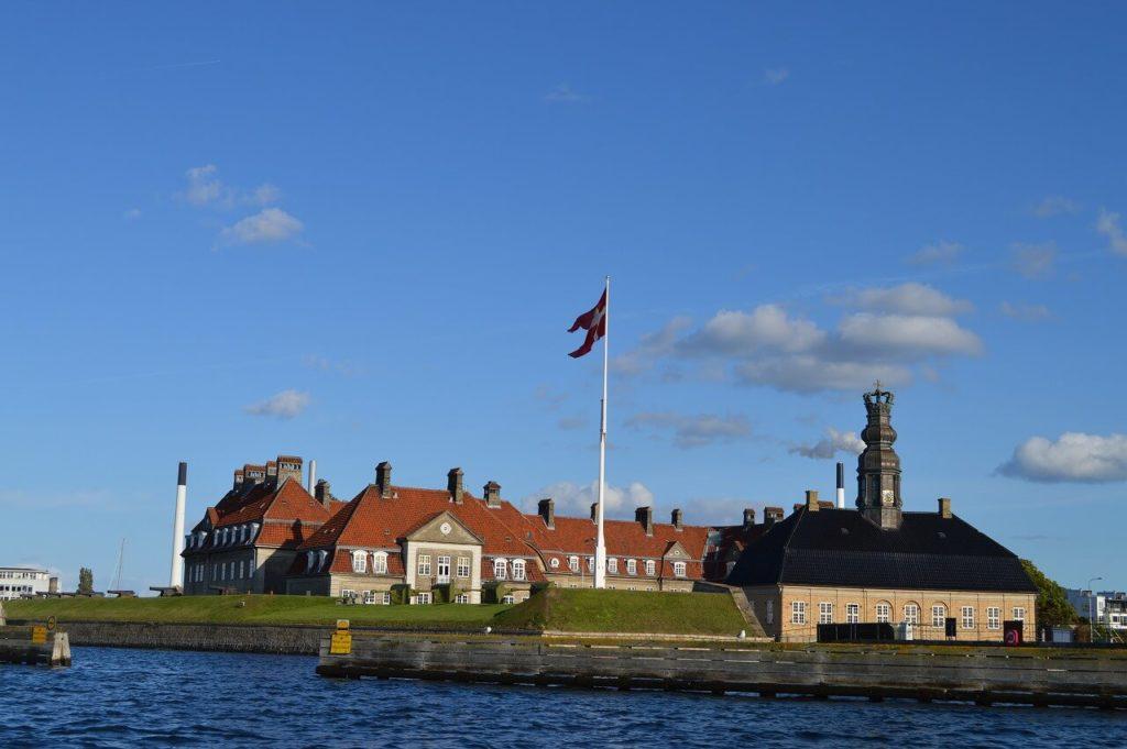 コペンハーゲンキャナルツアーの風景・倉庫