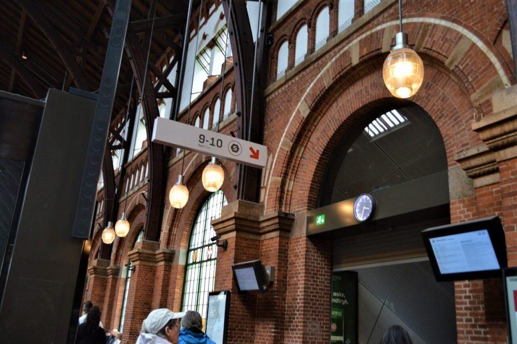 コペンハーゲン中央駅のS-tog乗り場