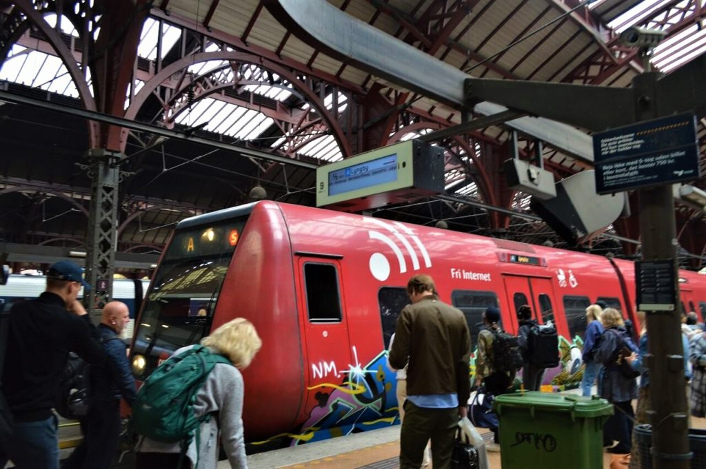 コペンハーゲン中央駅のS-tog