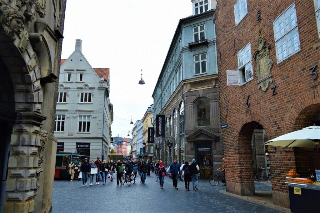 コペンハーゲンの町