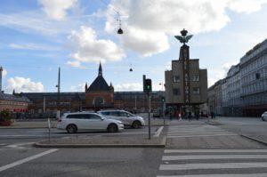 コペンハーゲン中央駅とホテル「ASTORIA」