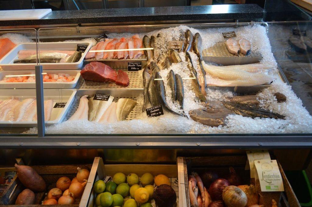 オスロの美味しいお店Fiskeriet