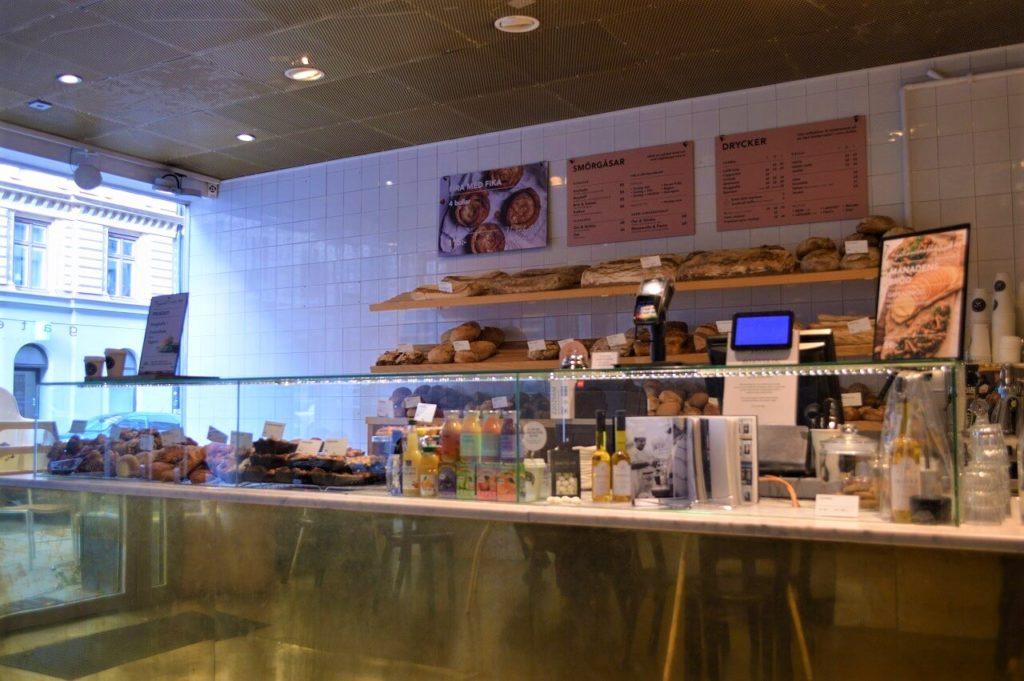ストックホルムのカフェ「gateau」
