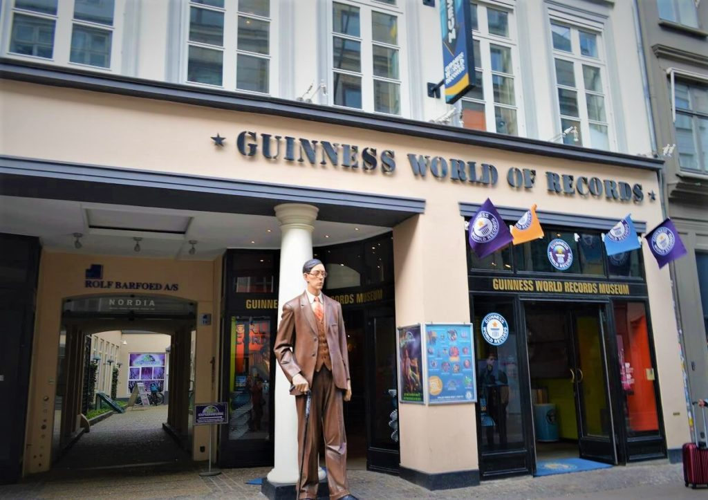 コペンハーゲンのギネス世界記録博物館