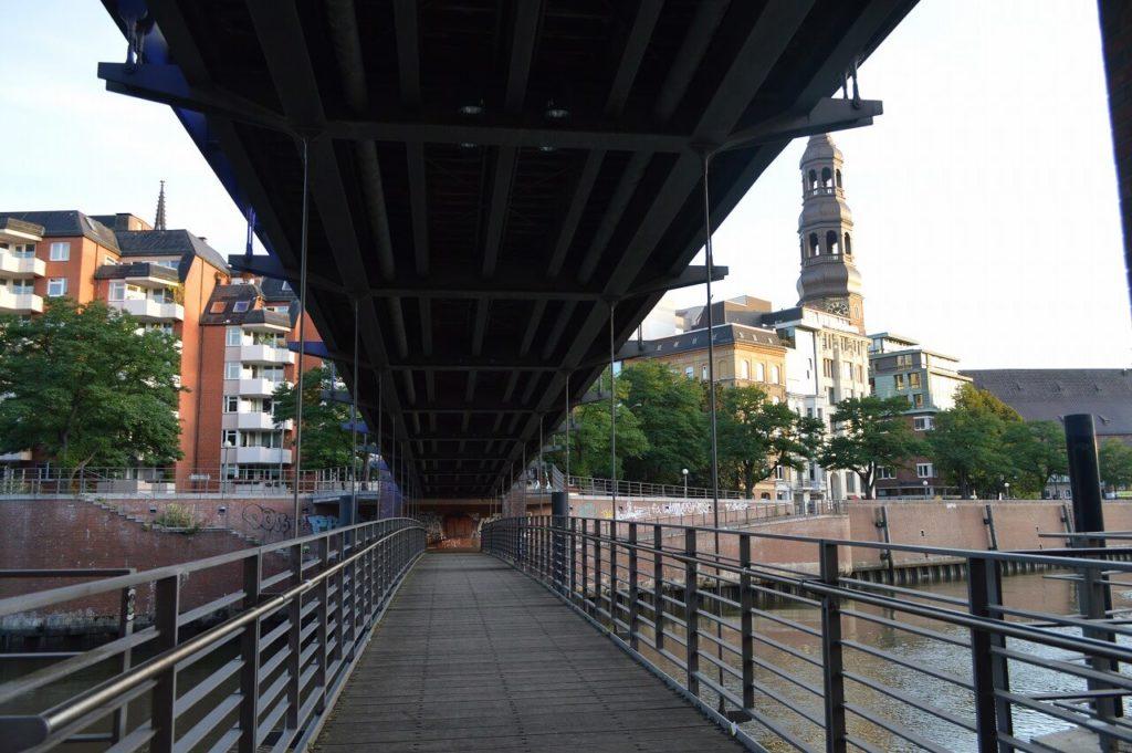 ハンブルクの橋