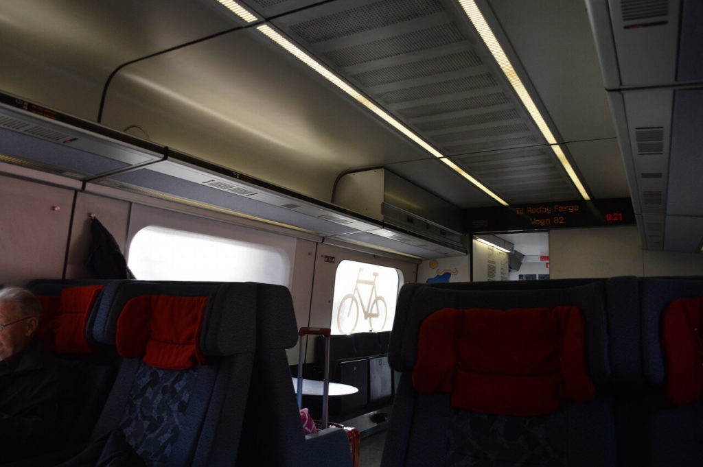 渡り鳥ルートの電車の車両