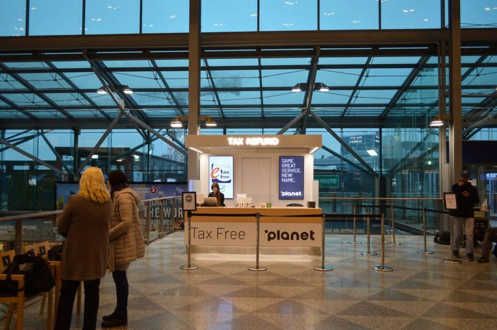 ヘルシンキ ヴァンター 国際空港の免税