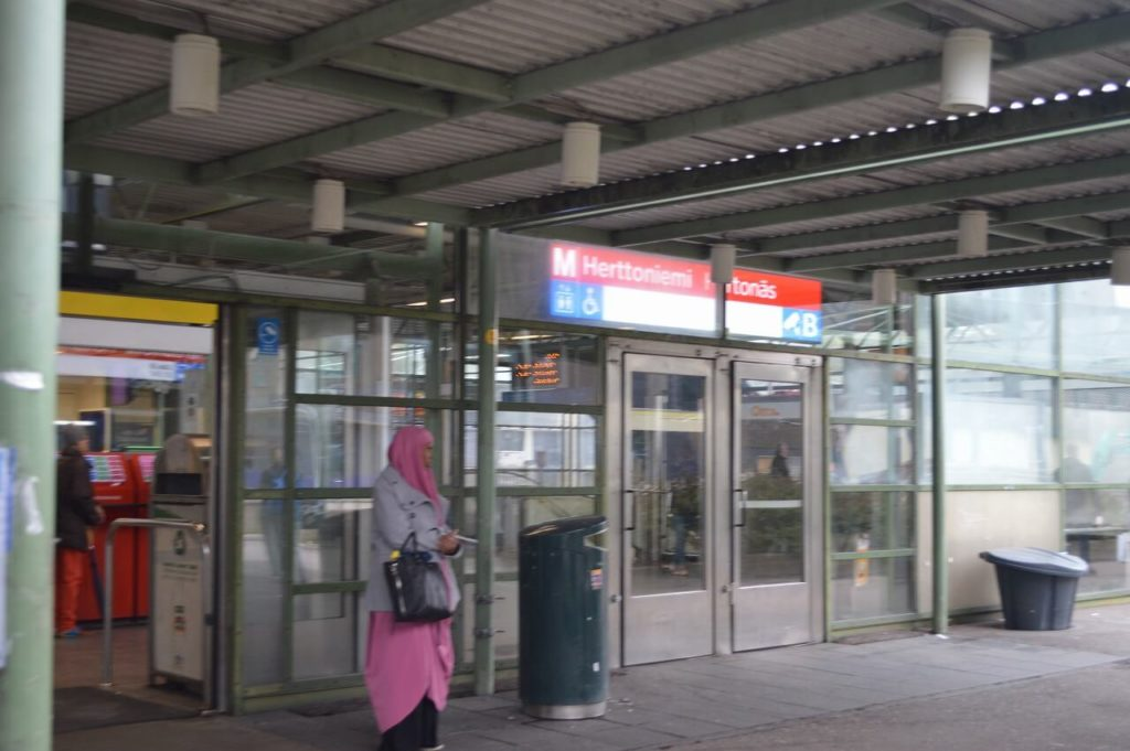 ヘルシンキのHerttoniemi駅