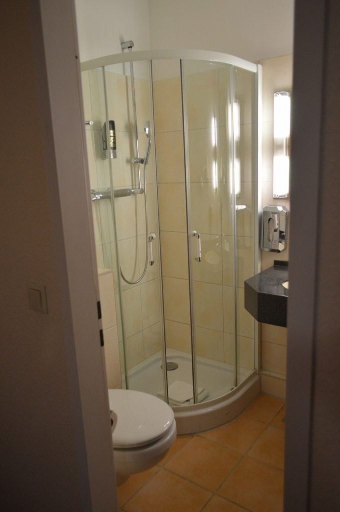 ホテル ルーメン アム ハウプトバーンホフのバスルーム