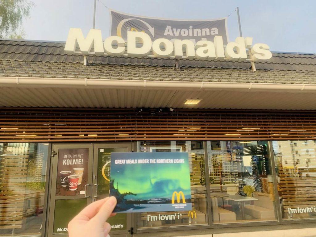 ロヴァニエミのマクドナルド