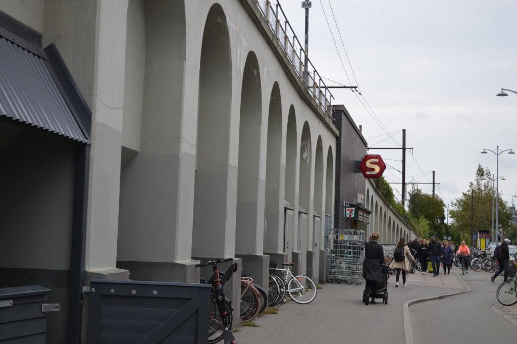 コペンハーゲンのNordhavn駅