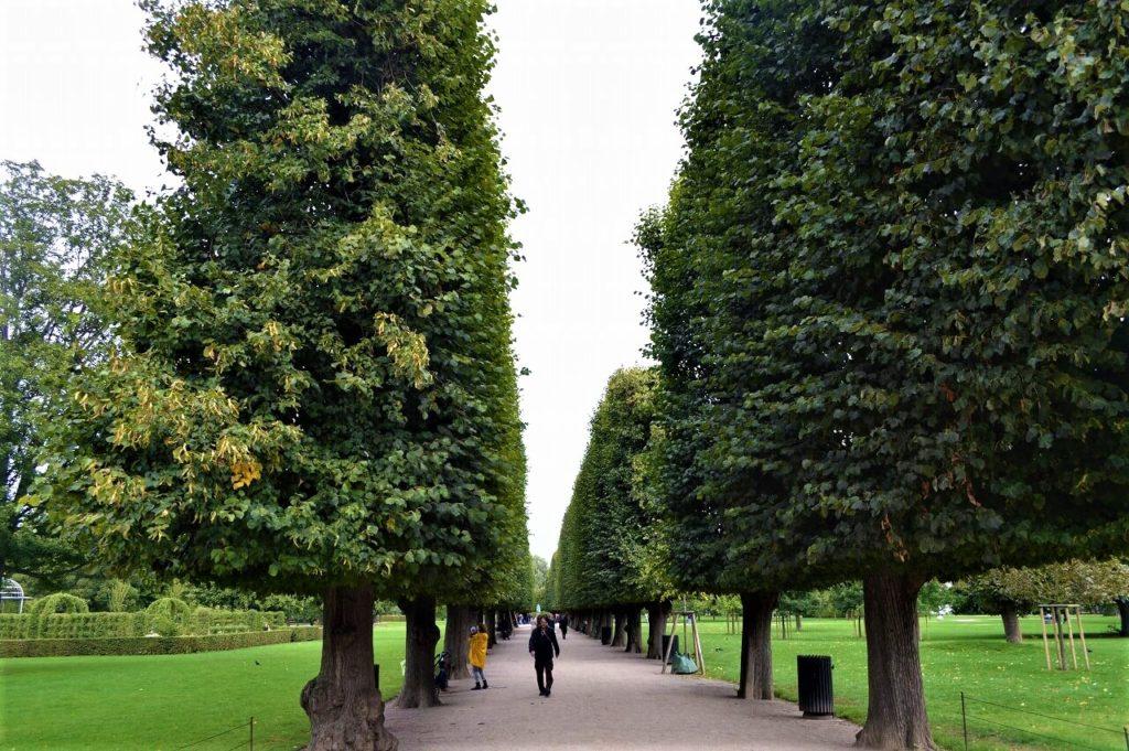 ローゼンボー宮殿の庭園