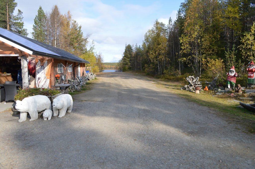 フィンランドのロヴァニエミ
