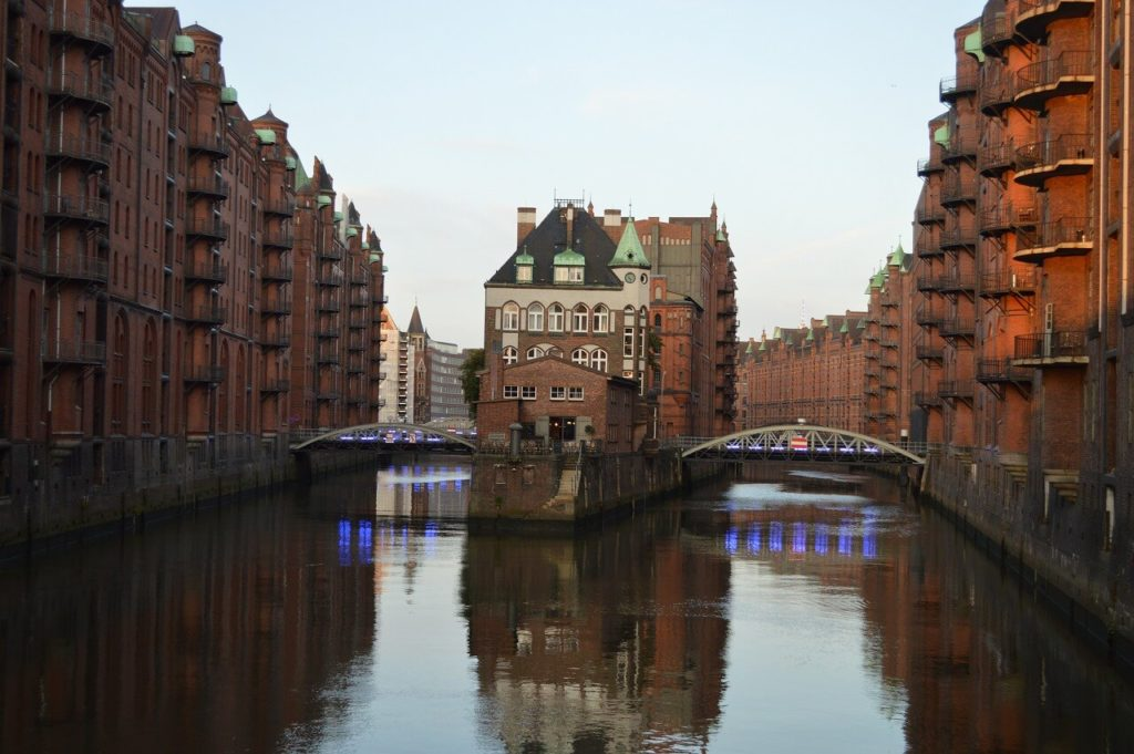 Hamburgの世界遺産・シュパイヒャーシュタット