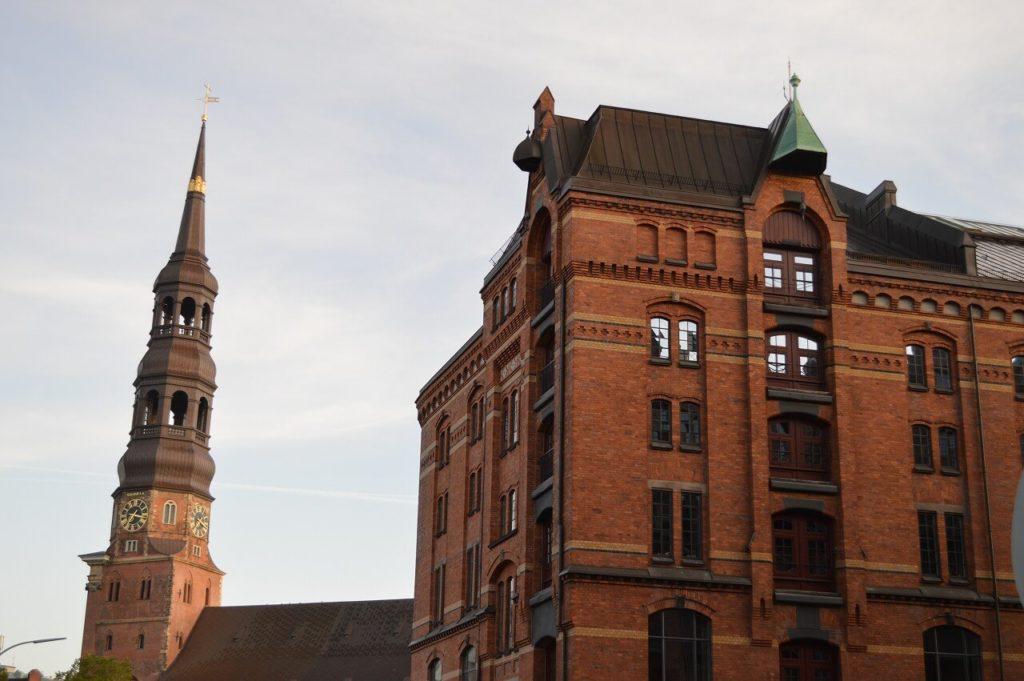 ハンブルクの倉庫街