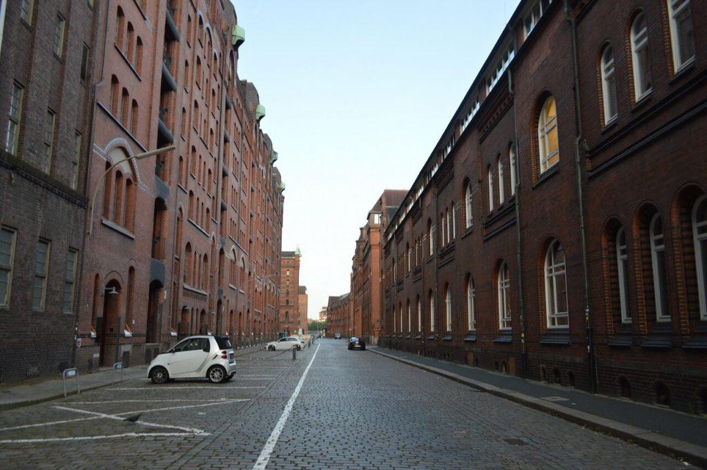 ハンブルクの世界遺産の倉庫街