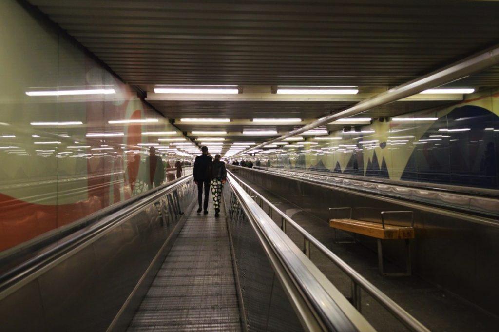 ストックホルムの地下鉄アート