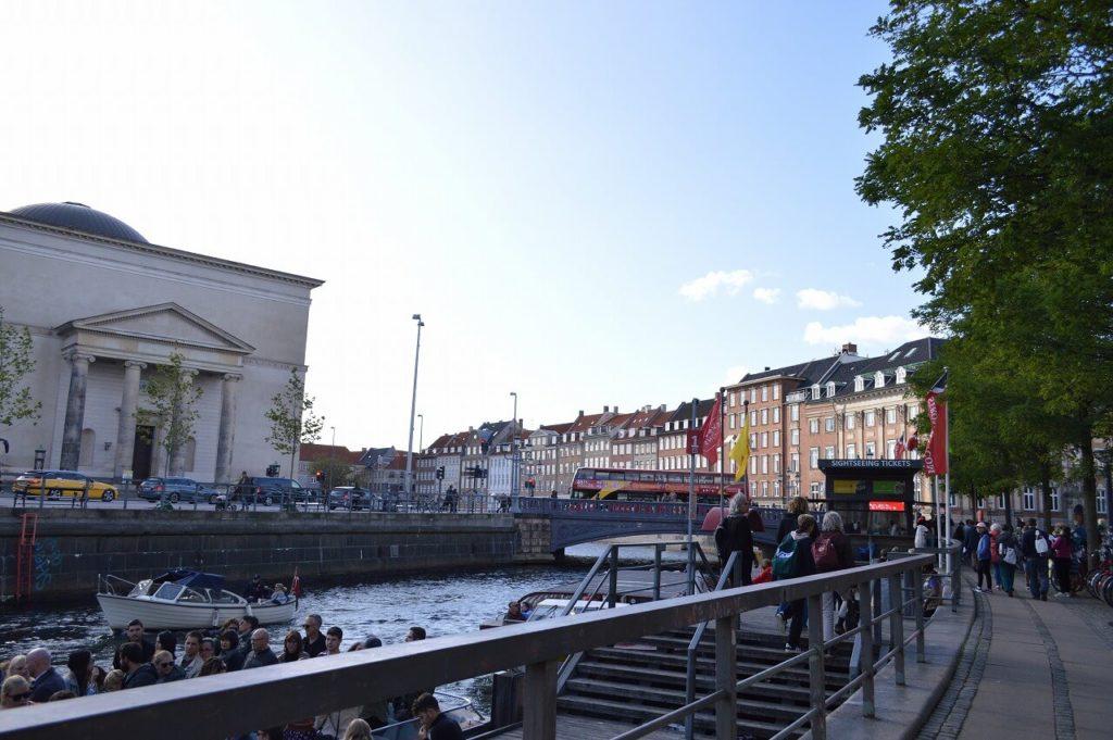 コペンハーゲンのキャナルツアーのチケットオフィス