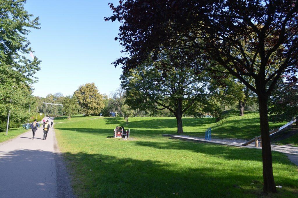 オスロのTøyen Park
